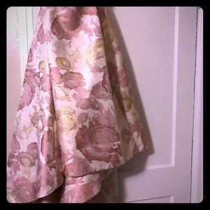 Dresses & Skirts - Satin and silk brocade high low skirt size 14